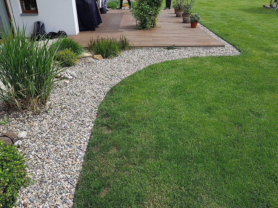 Comment Placer Des Dalles De Jardin la meilleure bordure de jardin, comparatif et avis - le